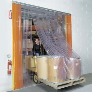 PVC Strip Curtains & Kits (Made to Measure)